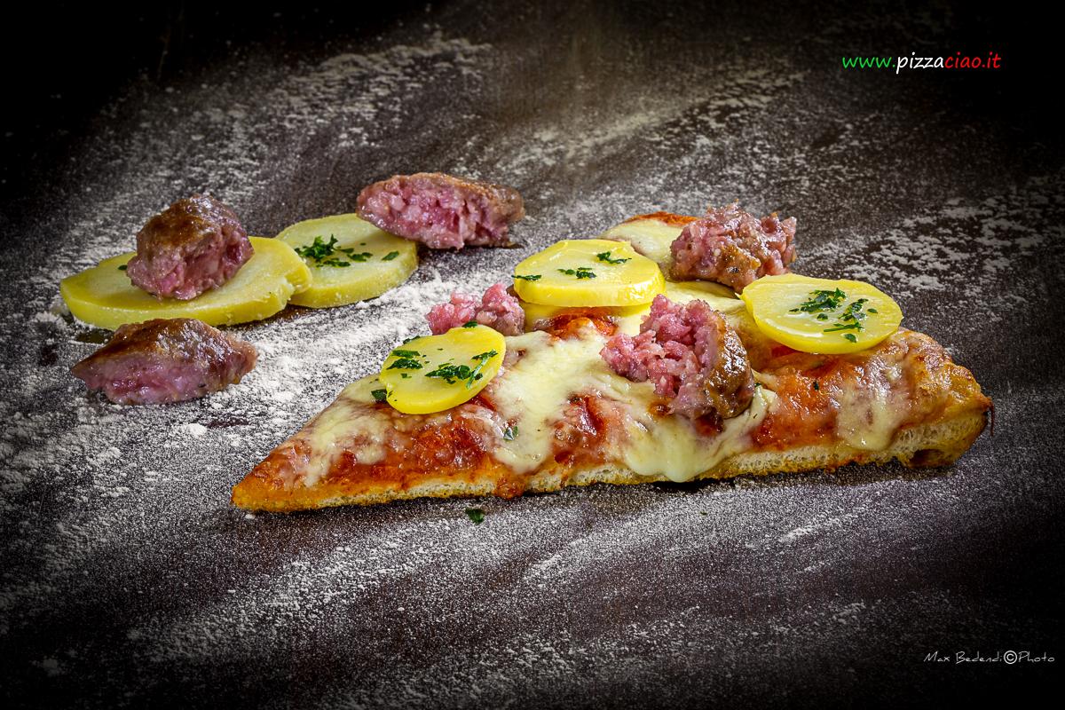 pizzaciao@ salsiccia e patate