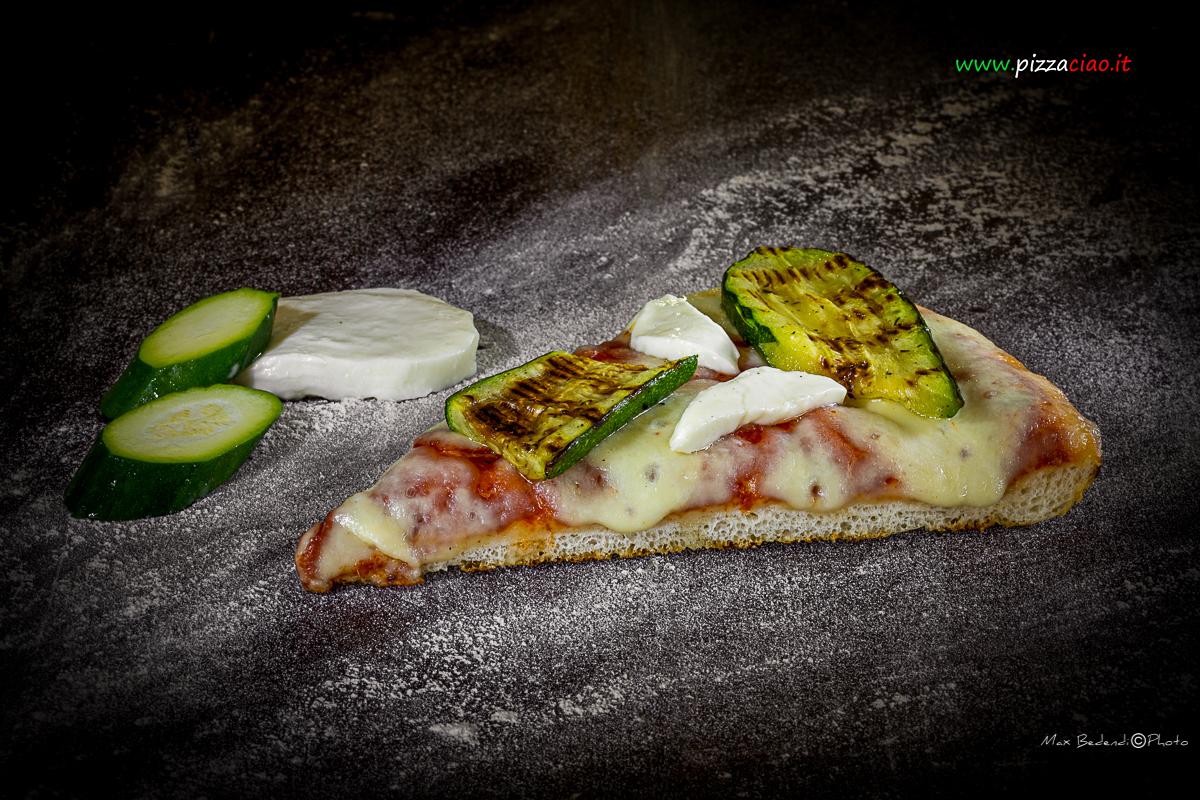 pizzaciao@ zucchine alla griglia e casatella