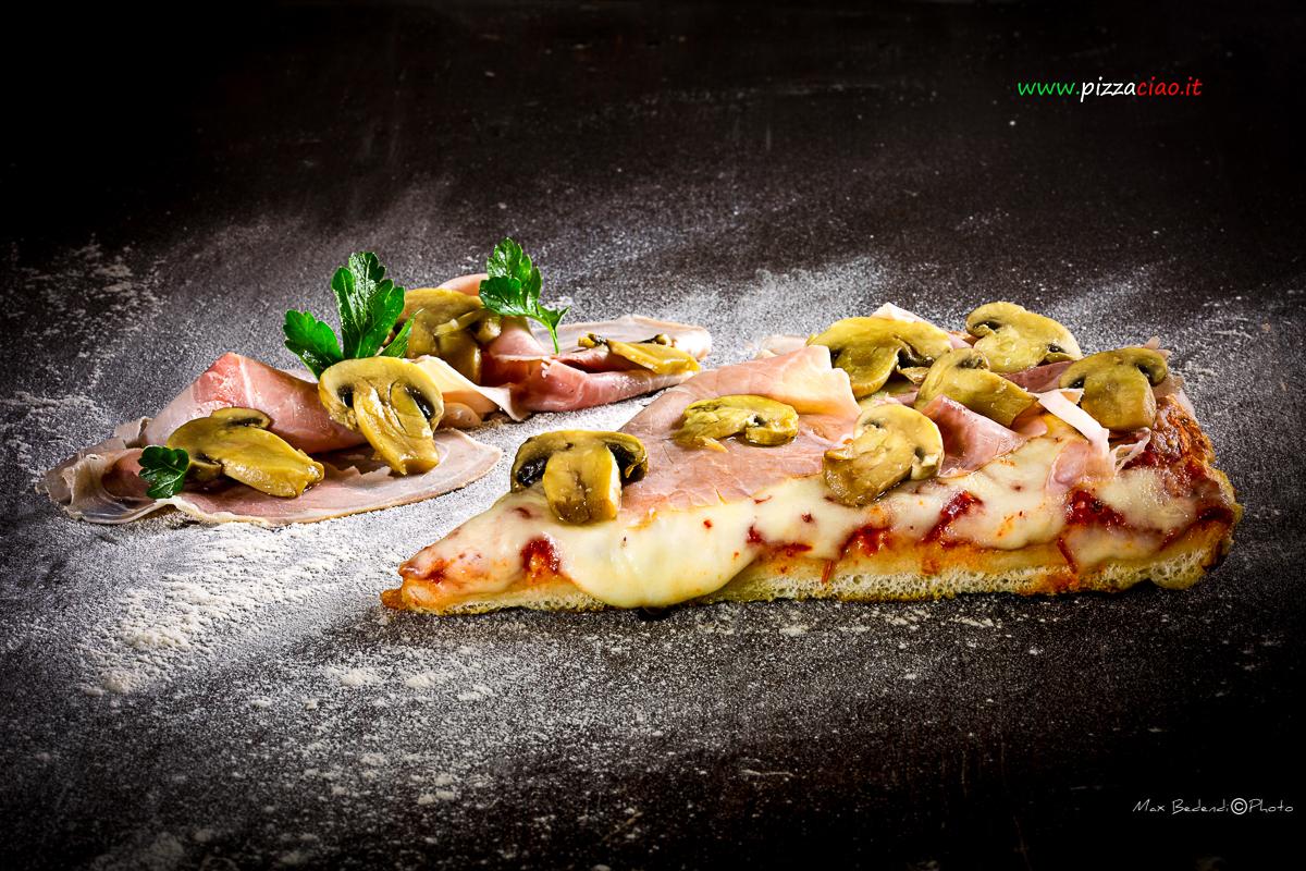 pizzaciao@prosciutto e funghi