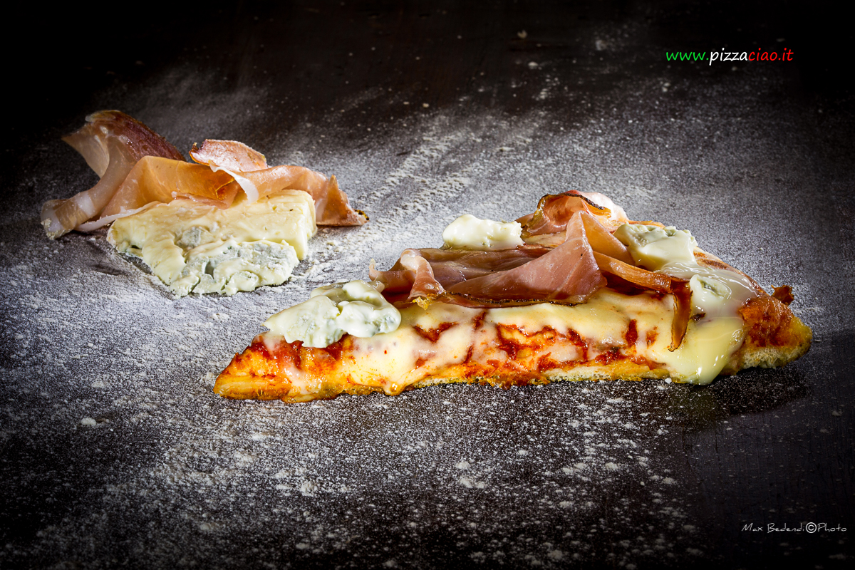 pizzaciao@speck e gorgonzola